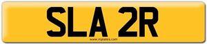 SLA 2R  SLATER  on retention certificate