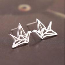Ohrstecker Ohrring Kranich Sonnenvogel Vogel aus 925 Sterling Silber