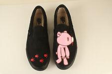 382d273caa Vans Anime Gloomy Bear Hand Painted Canvas Shoes cosplay Flat Slip-On Sz.11