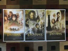 "Lord of the Rings (11"" x 17"") Movie Collector's Poster Prints ( Set of 3 )"