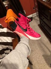 outlet store 30211 cad2d Nike Hyperdunk 2015 Pink Black White Basketball Shoes Men s Size 8