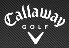 Callaway Golf Logo Vinyl Sticker Decal Car Truck Window