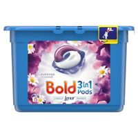 Bold 3 in 1 Pods Washing Capsules Lavender & Camomile Lenor Fresh 15 Washes