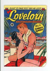 LOVELORN #17  - CLASSIC GGA COVER - VERY RARE - 1951