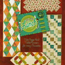 LET'S DO LUNCH Tote Bags Table Runners Quilts NEW BOOK Placemats Napkin Rings