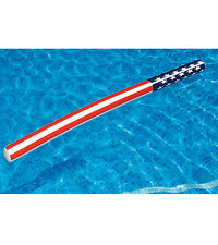 SWIMLINE Americana Doodle 183cm Inflatable Kids Pool Toy Noodle 90086 Blow Up