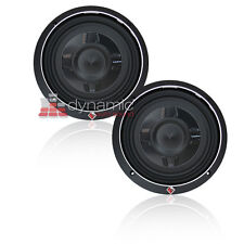 "(2) Rockford Fosgate P3SD4-8 DVC 4-Ohm 8"" Shallow Mount Car Subwoofers 600W New"