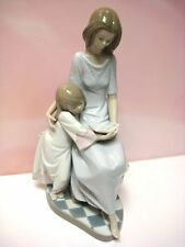 Bedtime Story Mother And Girl Child By Lladro #5457