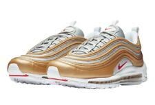 NEW Nike Air Max 97 SSL Trainers Shoes Size UK 7 METALLIC GOLD SILVER BULLET