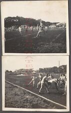 Vintage Photos Young Men College Boys Playing Rugby Football Sport 665858
