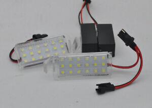 White LED rear Number License Plate Light For Ford Falcon FG BA/BF XR 6/8 03-08