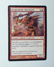 CARTE MTG MAGIC - VERSION FRANCAISE GROGNARD DU CLAN KRARK