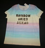 New Justice Girls Na Mer Ste Yoga Mermaid Top Tee Shirt 6 7 8 10 12 16 Year
