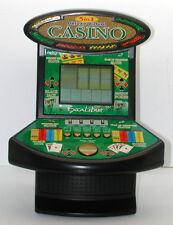 Deluxe 5 in 1 Virtual Casino Mini Arcade Machine Game Table Top Excalibur