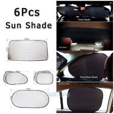 Car Window Sun Shade Foldable Windshield Full Shield Visor Block Cover 6pcs/set