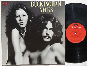 BUCKINGHAM NICKS LP orig '73 gatefold Polydor PD 5085 No CD Fleetwood Mac Stevie