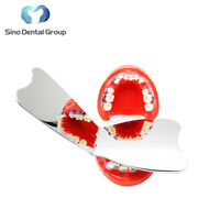 3 x Dental Orthodontic Intra-oral Mirror Photographic Stainless Steel Reflector