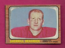 1966 TOPPS # 69 CHIEFS SHERRILL HEADRICK NRMT CARD (INV# A2698)