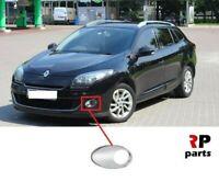 Pour Renault Megane III 12-13 Avant Bumper Foglight Grille Chrome Moulure Gauche