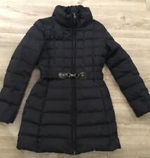 Hallhuber down & feather Belted Jacket with removable Hood size UK 6 (RRP £250)