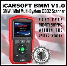 For BMW OBD2 SCANNER BMM V1.0 RESET ECU OIL RESET BATTERY TEST DIAGNOSTIC TOOL