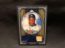 2005 Adrian Beltre Diamond Kings Donruss Baseball Game Used Jersey Bat Card #118