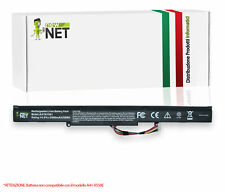 Batteria A41N1501 compatibile Asus N552V N552V-W-FY136T N552VX-FY024D [2600mAh]
