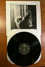 U2 Wide Awake In America Vinyl Lp Island Records 1984-85