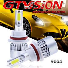 2x 9004 HB1 LED Headlight Kit Hi/Lo Beam For Nissan Frontier Sentra Maxima White