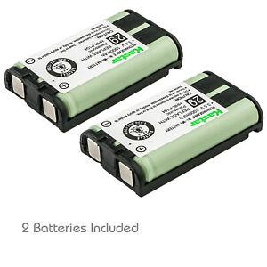 Kastar 2pcs HHR-P104 Home Phone Battery For Panasonic HHR-P104A/1B TYPE 29 23968