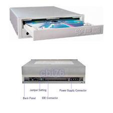 "Lettore DVD CD interno 5,25"" IDE frontale bianco/BEIGE per pc desktop"