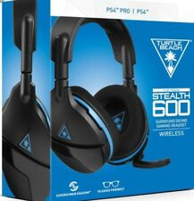 Turtle Beach Stealth 600 Wireless Surround Sound Gaming Headset for PS4  VG READ