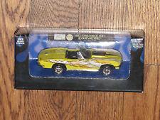 Xtreme Machines 1/43 Yellow Chevrolet Corvette Convertible 1967 Flashy Paint MIB