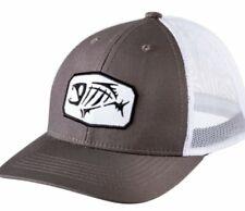G Loomis Truckers Hat w/Iconic Fish Logo Gray Heather