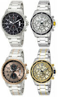 Invicta Men's Specialty Chronograph Analog Quartz Stainless Steel Watch