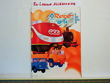 Catalogue ROCO - O - HO - HOe - N - Catalogue Général 1983/1984 - D - 196 pages