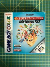 Game Boy Color Microsoft Puzzle Collection NEW/NEUF (GBC, GBA) RARE