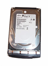 "FUJITSU 73GB SAS 15k RPM 3.5"" MBA3073RC Hard Disk Drive with Caddy 0D981"
