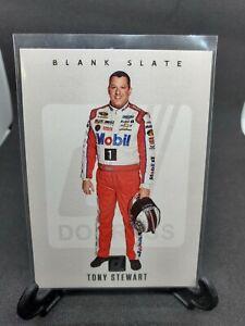 2021 Donruss Racing Tony Stewart BLANK SLATE SSP CASE HIT VERY RARE