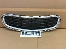 2015 2016 Chevrolet Cruze Front Center Grille Black & Chrome new OEM 95405770
