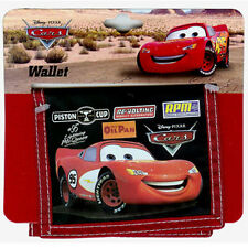 Wallet Bifold Disney Pixar CARS Lighting McQueen Boy New RdTrm
