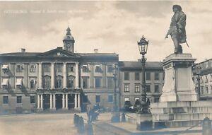 GOTEBORG – Gustaf II Adolfs Staty och Radhuset RPPC – Gothenburg – Sweden