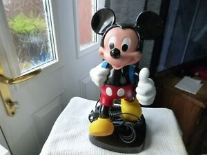 mickey mouse phone in working order