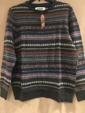 Urban Pipeline Mens Sweater - Authentic American Tradition - XL  Charcoal Stripe