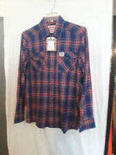 Carhartt long sleeve plaid flannel shirt S258SCU size med