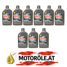 9x1 Liter Shell Helix Ultra 0W-40 Motoröl, ACEA A3/B3/B4 - API SM/CF