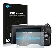 6x Savvies Screen Protector for Sony Alpha NEX-5 Ultra Clear