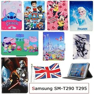 """for Samsung Galaxy Tab A 8.0"""" 2019 SM-T290 T295 Flip Case Stand Up Kids Cover UK"""