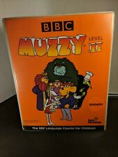Muzzy Bbc Spanish Language Course for Children Vhs Cassette Tapes Level Ii