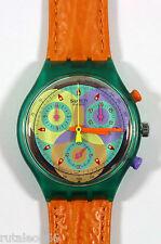 SWATCH original Swiss made CHRONO SCL102 quartz watch New old stock